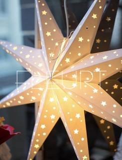 3D papír csillagok