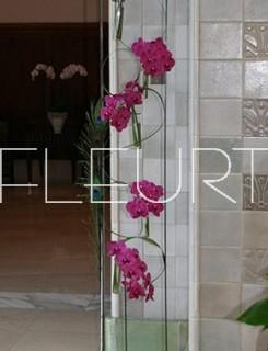 Betontalpú virágállvány