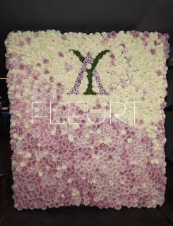 Virágfal keret - 100*240cm