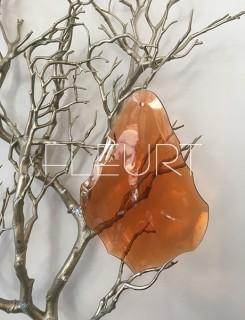 Plexi díszek - bronz