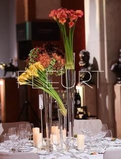 Flute váza - 60cm