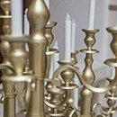 Candelabras, tealight holders
